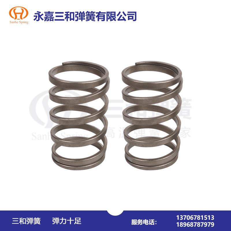 矩形截面材料圆柱螺旋压缩弹簧--弹簧生产厂家