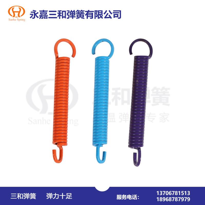 矩形钢丝拉伸弹簧--弹簧厂