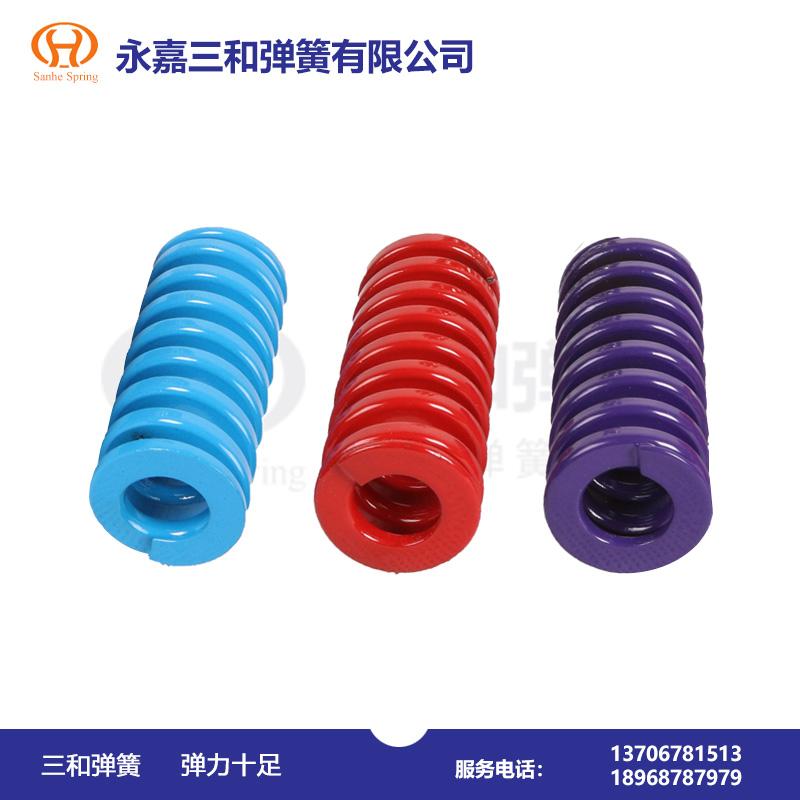 圆截面材料圆柱螺旋压缩弹簧--弹簧厂